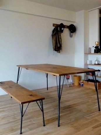 テーブルburogu